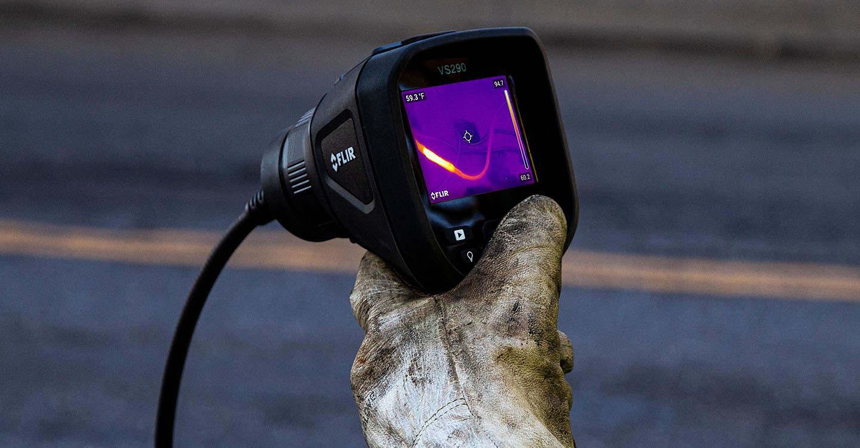 FLIR Systems anuncia o primeiro videoscópio térmico da indústria.